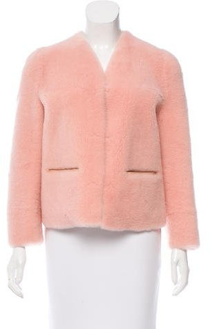 Bottega Veneta Bottega Veneta Structured Shearling Jacket