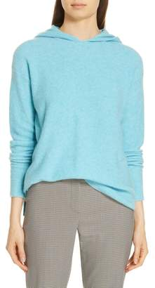 Nordstrom Signature Cashmere Blend Boucle Hoodie Sweater