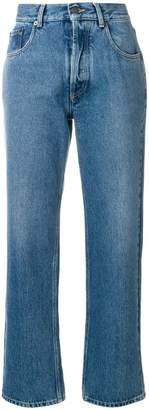 Maison Margiela cropped straight leg jeans