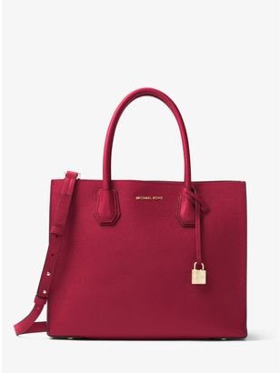 Mercer Large Bonded-Leather Tote $298 thestylecure.com