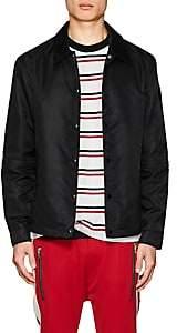 Barneys New York NBALab x The Very Warm XO Men's Tech-Twill Coach's Jacket - Black