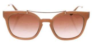 Tory Burch Tinted Wayfarer Sunglasses