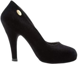 Vivienne Westwood Black Velvet Heels