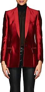 Haider Ackermann Women's Flecked Jacquard Hourglass Blazer-Red