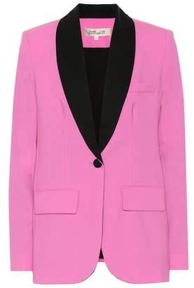 Diane von Furstenberg Tommy wool blazer