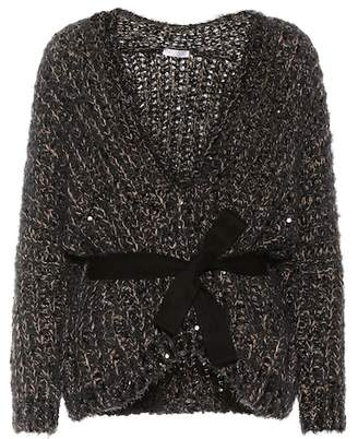 Brunello Cucinelli Sequinned cotton-blend sweater