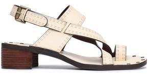 See by Chloe Laser-Cut Leather Sandals