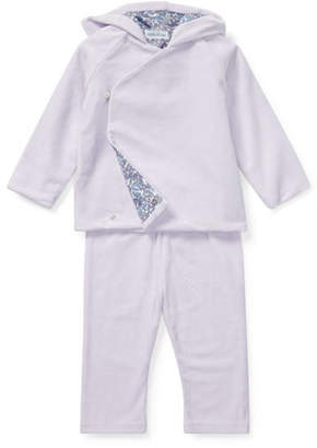 Ralph Lauren Childrenswear Two-Piece Knit Outfit Set, Size 6-24 Months