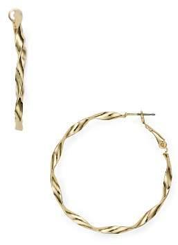 Aqua Twisted Hoop Earrings - 100% Exclusive