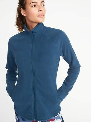 Old Navy Semi-Fitted Full-Zip Performance Fleece Jacket for Women