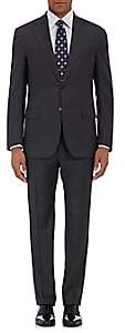 Barneys New York Men's Kappa Wool Two-Button Suit-Charcoal