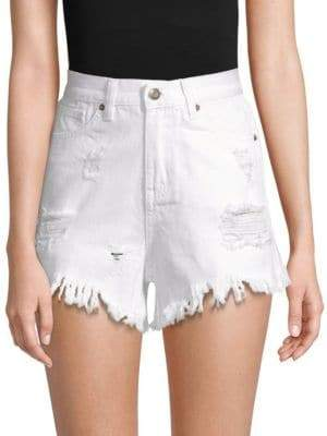 Moon River Distressed Shorts