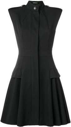 Alexander McQueen pleated detail dress