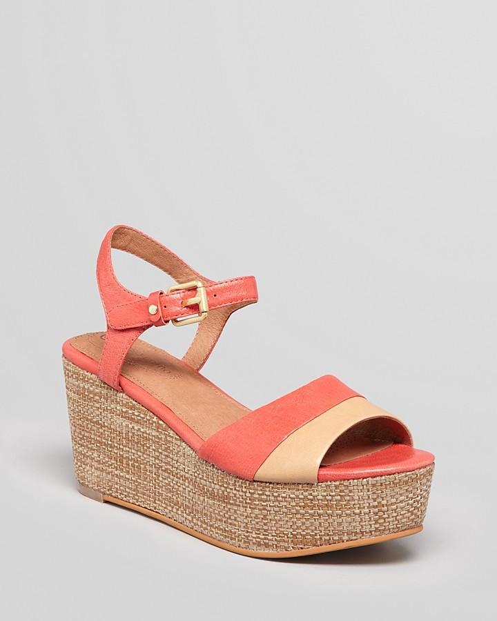 Corso Como Platform Wedge Sandals - Naan