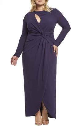 Dress the Population Naomi Twist Gown