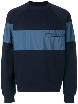 Prada striped crew neck sweater