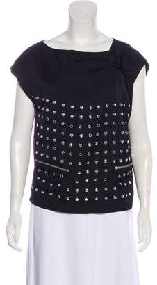 See by Chloe Embellished Sleeveless Top