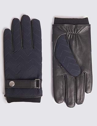 Marks and Spencer Quilted with Wrist Strap Gloves
