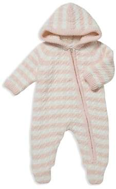 Angel Dear Girls' Sherpa-Lined Knit Footie - Baby