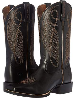 Ariat Round Up Wide Square Cowboy Boots