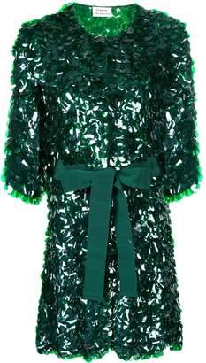 P.A.R.O.S.H. sequin embellished longline jacket
