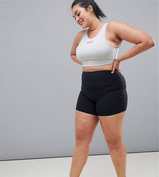 Asos 4505 4505 Curve training booty short