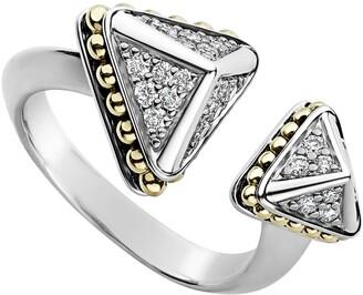 Lagos KSL Lux Diamond Open Ring