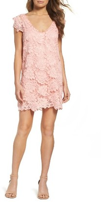 Women's Bb Dakota 'Jacqueline' Lace Shift Dress $95 thestylecure.com