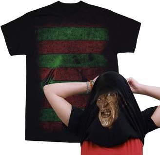 Black Nightmare on Elm Street I Am Freddy Krueger Pull Over Mask T-Shirt