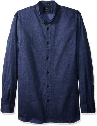 Scotch & Soda Men's Classic Shirt in Brushed Cotton Oxford Quality