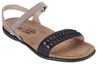 Naot Footwear Leather Ankle Strap Sandals - Mable