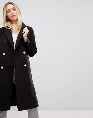 Girls On Film Longline Coat