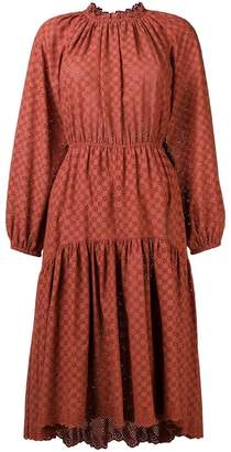 Ulla Johnson perforated flower dress