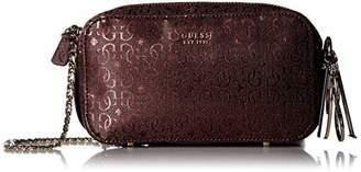 GUESS Tamra Metallic Crossbody Camera Bag