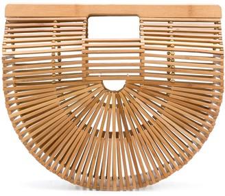 Cult Gaia basket tote bag