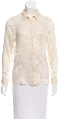 Marc Jacobs Marc Jacobs Striped Long Sleeve Blouse