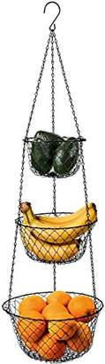 Fortune Candy 3-Tier Wire Fruit Hanging Basket