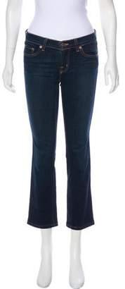 J Brand Cigarette Leg Low-Rise Jeans