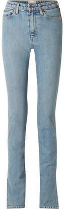 Simon Miller W009 Arizpe High-rise Slim-leg Jeans - Light denim