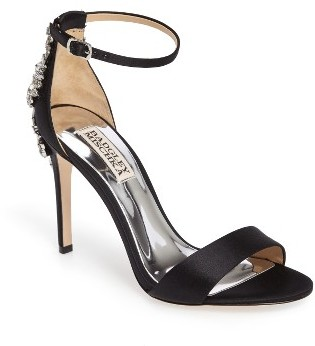 Women's Badgley Mischka Bartley Ankle Strap Sandal $235 thestylecure.com