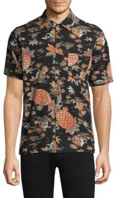 Citizens of Humanity Graphic Button-Down Shirt