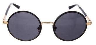 The Row Tinted Circular Sunglasses
