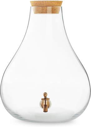 Lucky Brand Glass Beverage Dispenser