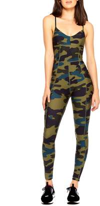 The Upside Army Camo Unitard