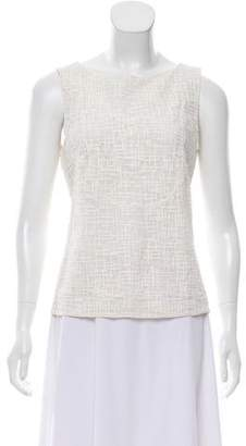 Chanel Sleeveless Lace Top