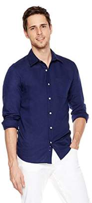 Isle Bay Linens Men's Standard-Fit Long-Sleeve Woven Shirt