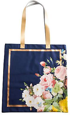 Rosanna Seven Sisters Floral Tote Bag, Navy