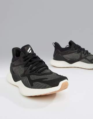 adidas Alphabounce Sneakers In Black