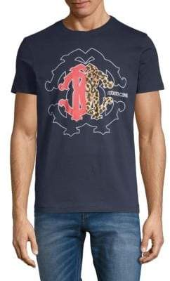 Roberto Cavalli Cotton Graphic Tee