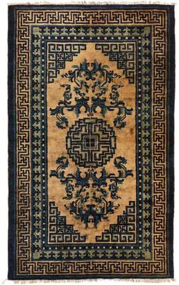 "ABC Home Vintage Chinese Wool Rug - 3'1""x5'2"""